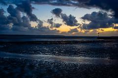 Hill Head Sunset (JonnyONeil) Tags: sun 60d sunset isleofwight hampshire clouds canon water 24105 sea