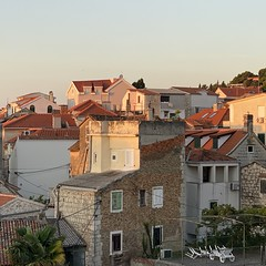sunrise (mennyj) Tags: vacation travel croatia maslinica split germany munich fall 2019 mobile iphone iphone11 europe international sunrise airbnb view patio homes houses red roof terra cotta mediterranean