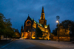 Glasgow cathedral @ twilight