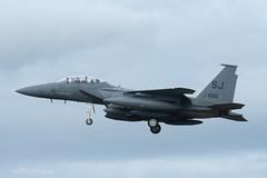 USAF, McDonnell Douglas F-15E Strike Eagle (89-0486/SJ) 'Kong', 336th FS/4th FW (mattmckie98) Tags: aircraft aviation airforce usaf us military lakenheath fighter f15 jet nikon