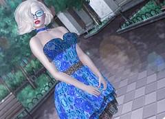 Mila Blauvelt (Mila Blauvelt) Tags: ebentotheevent event ebento dressmesh dress glasses choker hairmesh