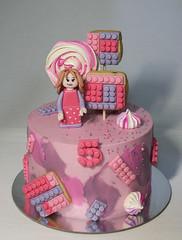 Lego Cake (Passione: Cupcakes!) Tags: cake cakedesign cakedecoration lego legocake legofriends legofriendscake pinkcake tarta tartadecorada tartalego torta tortadecorata tortalego