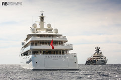 Elements - 80m - Yachtley & Tranquility - 91,5m - Oceanco (Raphaël Belly Photography) Tags: rb raphaël raphael belly photographie photography yacht boat bateau superyacht my yachts ship ships vessel vessels sea motor mer m meters meter elements 80m 80 yachtley white blanc bianco blanche imo 9589308 mmsi 248446000 tranquility equanimity 91m 92 oceanco bianca blue bleu bleue 1012086 319059800