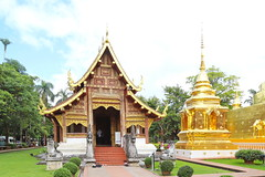 Wat Phra Singh in Chiang Mai 5.9.2019 2118 (orangevolvobusdriver4u) Tags: archiv2019 2019 thailand totallythailand chiangmai norththailand temple tempel wat watphrasingh gold