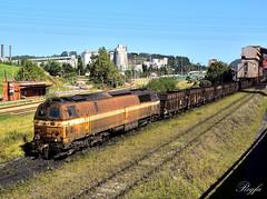 Aboño (**REGFA**) Tags: mz 333 diesel comsa carbon arcelor tren train comboios