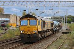 66745 (Gronk 08) Tags: 66745 longport rail head treatment rhtt gb freight staffordshire stokeontrent uk loco class 66