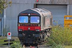 66792 (Gronk 08) Tags: 66972 longport em depot stokeontrent staffordshire loco rush rail uk diesel
