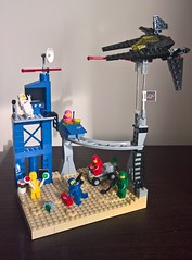 Another perfect day in space - Profile (toastergrl) Tags: lego classic space blacktron benny lenny kenny jenny yvenny vic viper monorail moc afol vignette movie