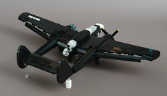 P-61A-5 Flaps Details (Sydag) Tags: lego moc airplane aircraft warbird nightfighter wwii