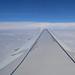 Aigle Azur F-HBAL Airbus A319-111 over the Mediteranean sea en route to ALG 06-06-2014