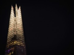 The Shard by Night (Steve Brewer Photos) Tags: london uk unitedkingdom shard theshard theshardofglass southwark