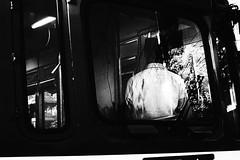 *** (Hitoshi Matsumoto) Tags: monochrome blackandwhite bw abstract train stranger street streetphotography osaka japan japanese contrast city urban lightandshadow