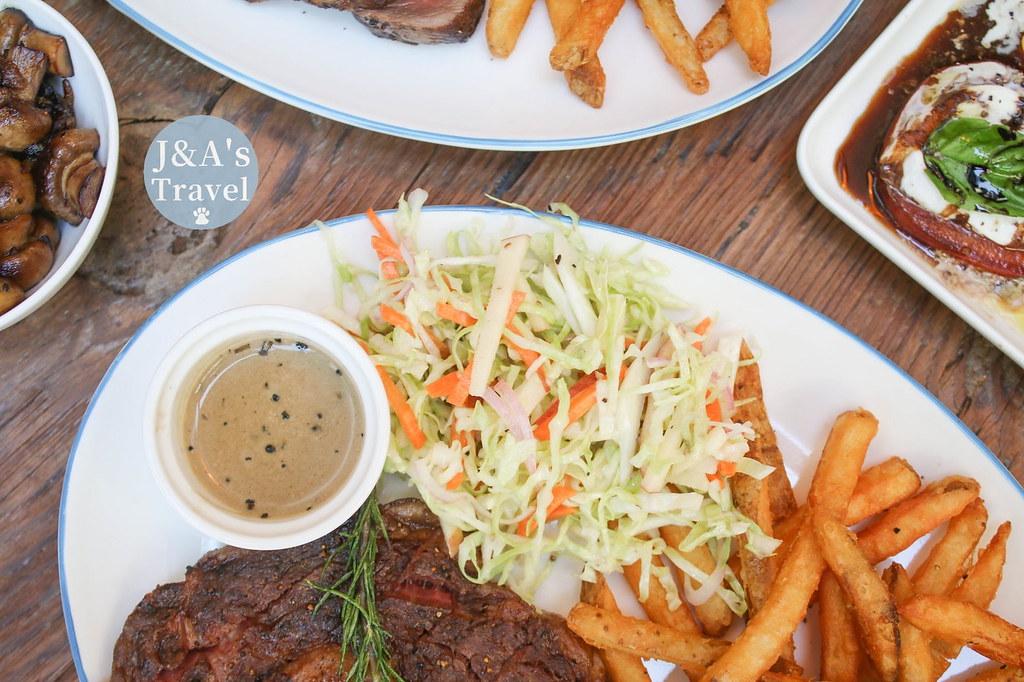 Nomad Bistro Bar 荷蘭小點有特色,每份牛排都有專屬醬汁!東區餐酒館推薦【捷運國父紀念館】東區美食/東區聚餐餐廳 @J&A的旅行