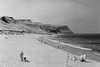 Beach, SFX200 (Dougalplex) Tags: 645 film location media monochrome northyorkshirecoast sfx200 skinningrove tonality