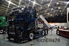 Add Watermark20191019041833 (richellis1978) Tags: truck lorry haulage transport logistics show motions telford custom volvo fh fh4 fh16jgr richardson