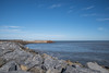 Pier and Blue Sky (Dougalplex) Tags: colour location northyorkshirecoast pentaxk1 skinningrove tonality carlinhow england unitedkingdom
