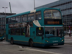Arriva DAF DB250 (East Lancs Lowlander) 6061 FD02 UKP (Alex S. Transport Photography) Tags: bus outdoor road vehicle arriva arrivatheshires arrivamidlands db route6 daf db250 eastlancs eastlancslowlander elc 6061 fd02ukp