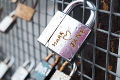 (Podkin) Tags: bridge padlocks love preston