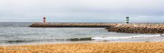 An autumn day in Quarteira (Algarve, Portugal) (Placido De Cervo) Tags: algarve portugal quarteira portogallo autunno autumn outono mare mar sea farol lighthouse seascape panorama spiaggia praia