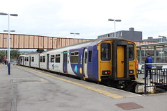 sheffield 150205 (brianhancock50) Tags: railway rail railways train trains dmu class150