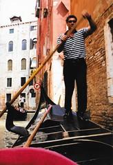Venice, Italy - From a Gondola - Our Gondolier (jrozwado) Tags: europe italy italia venice venezia unescoworldheritage canal gondola gondolier