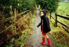 THE WET PATH TO FOOTBALL TRAINING (Tyrone Fleming) Tags: filmphotography gr1 gwtphotography ilovefilm ishootfilm myson ossettfalcons ossetttownfootballclub ossettunited outdoor portraitonfilm raining ricoh tyronefleming shotonfilm colourfilm agfaphoto200vistaplus ricohgr1 footballtraining filmportrait wetweather path