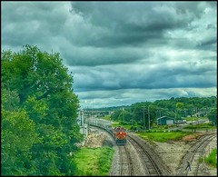 Tracks.... (Sherrianne100) Tags: danger traintracks railroad trains ozarks missouri