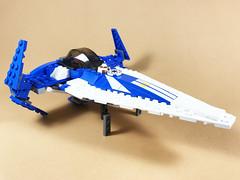 Plo Koon's Sith Infiltrator (wingspan)