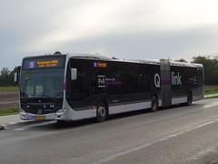 NLD Qbuzz 3454 ● Annen Anlooërweg (Roderik-D) Tags: qbuzz34483462 3454 28bhp8 annenrotonde qlink5 qlinkpaarsroze qlinkpurplepink 647155 articulatedbus 2016 dieselbus euro6 mercedesbenz citaro3 o530g isri geledebus gelenkbus qlink ticketmachine cruisecontrol 3axle 3doors