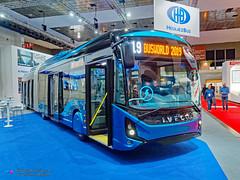 Iveco eWay (Pi Eye) Tags: iveco articulé gelenk eway heuliez linium busworld busworld2019