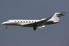 Private   Gulfstream G650ER   VP-CVA   Hong Kong International (Dennis HKG) Tags: gulfstream g650 g650er glf6 gulfstream650 aircraft airplane airport plane planespotting bizjet businessjet hongkong cheklapkok vhhh hkg vpcva