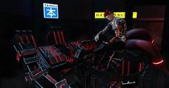 Neo-Japan SL Event Photo Contest 4 - [Marlboroxx Resident] (Marlboro x-x) Tags: neojapan ruin tail robot machine war fight survived life sl secondlife
