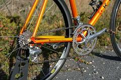 KLEIN Quantum Race #3 (1999) (Mr._Tonzy_Linder) Tags: klein quantum race rennrad road bike 1999 sunrise orange trek shimano ultegra mavic cosmic