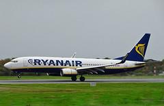 EI-EST Boeing 737-800 of Ryanair (SteveDHall) Tags: boeing b737 boeing737 737 737800 b737800 boeing737800 738 b738 aircraft airport aviation airfield aerodrome aeroplane airplane airliner airliners 2019 manchester manchesterairport ringway mcr man egcc ryr fr ryanair eiest