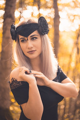 black magic crown (annaaayukhno) Tags: witch crown black magic goddess headdress gothic swan fascinator dark fairy headpiece nature festival queen wedding gatsby