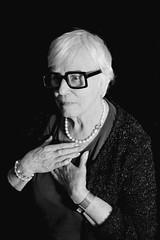 DSC_4783 (evelien noens) Tags: mom mother portrait blackandwhite sigmaartlenses sigma50mmart nikond750 nikon woman model glasses