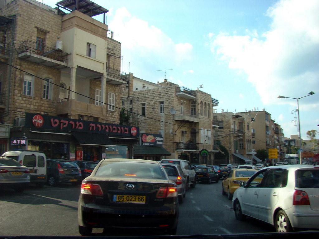фото: На улицах Хайфы