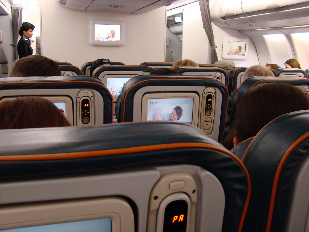 фото: В салоне Airbus A330-300