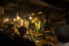 An evening out in Memory Lane (Tim&Elisa) Tags: japan yakitorialley memorylane 焼き鳥の路地 tokyo canon urban city night food drinks shinjuku 東京 新宿区 izakaya