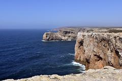 End of the world (James Mans) Tags: nikon d5500 1750mm sigma 1750mm28 portugal europe travel see sun blue sky rocks cliffs coast seaside shore sand water sea waves vila do bispo sagres