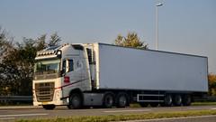 AZ22013 (18.10.11, Skanderborgvej, Øllegårdsvejj)DSC_1221_Balancer (Lav Ulv) Tags: 261537 volvo import e6 2014 refrigeration 6x2 volvofh skanderborgvej kühltransporte fh500 euro6 køletransport lmservicefredericia road street white truck denmark traffic strasse danmark verkehr vej trafik cabover commercialvehicles truckspotter truckphoto erhvervskøretøjer vibyindustriområde lorry camion vehicle dänemark coe aarhus vehicule danemark lkw danimarca lastbil køretøj lastvogn danishhauliers danskefirmaer danskevognmænd tractor semi trailer artic articulated vrachtwagen hauler zugmaschine sattelschlepper trækker danoise auflieger sattelzug tractorunit autocarra oplegger vogntog sættevogn