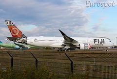 F-WZFW Airbus A350 Fiji Airways (@Eurospot) Tags: fwzfw airbus a350 a350900 dqfaj fijiairways toulouse blagnac