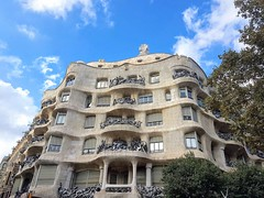 La Pedrera (Ioannis Ks) Tags: building architecture barcelona gaudi casa pedrera