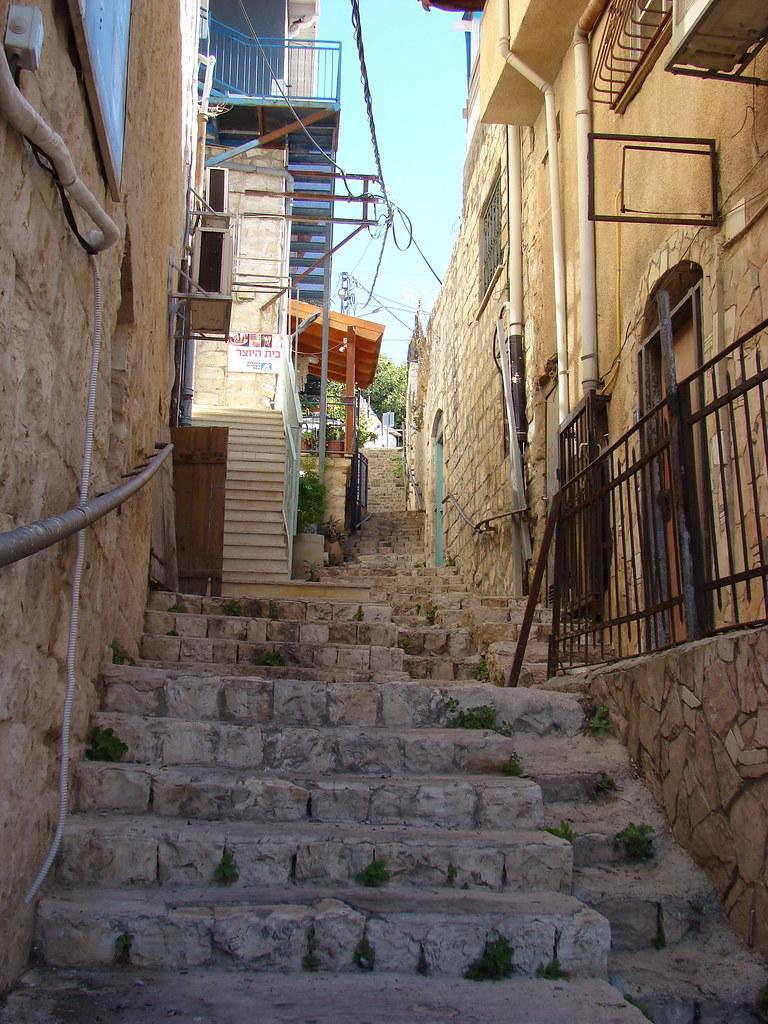 фото: Лестница в Цфате