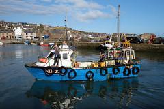 Sine Bhan (syf22) Tags: harbour fishingboat fishingvillage gourdon nescotland pier boat vessel ship watercraft village water barrier shelter