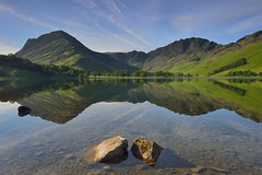 Classic Buttermere (images@twiston) Tags: buttermerepines classic buttermere pines sunlit sentinels scotspines lake cumbria lakedistrict haystacks fleetwithpike boathouse hut charhut trees tree nationalpark fell fells verdant emerald green grass mountains landscape imagestwiston countryside mountain still water reflection reflections morning mirror summer greens reflected sunrise serene sentinel blueskycloudcloudsunescoworld heritage sitenisinisifiltersgndneutral density grad polarizer polariser cpl