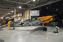 Messerschmitt Bf 109 (Infinity & Beyond Photography: Kev Cook) Tags: messerschmitt bf109 me109 wwii luftwaffe fighter aircraft raf museum hendon london photos