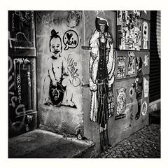 ACAB on Orwo NP_15 (rudeskull) Tags: analog ostfilm film orwo punk acab bw berlin ostberlin rolleiflex tessar zeiss rollfilm120 mittelformat tlr blanconegro negativscann negative kunst art street friedrichshain