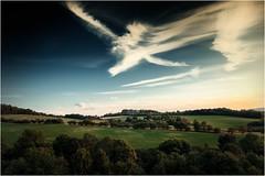 Filigran (linke64) Tags: thüringen deutschland germany gebüsch natur landschaft himmel wolken wolkenhimmel bäume baum büsche busch wald wiese feld felsen filigran