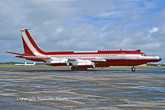 BOEING 720-023B C-FETB P & W CANADA (shanairpic) Tags: jetairliner trialsaircraft testbed b720 boeing720 shannon prattwhitney pw cfetb